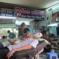 [ベトナム]30日目:理容店で髪を切ってもらった